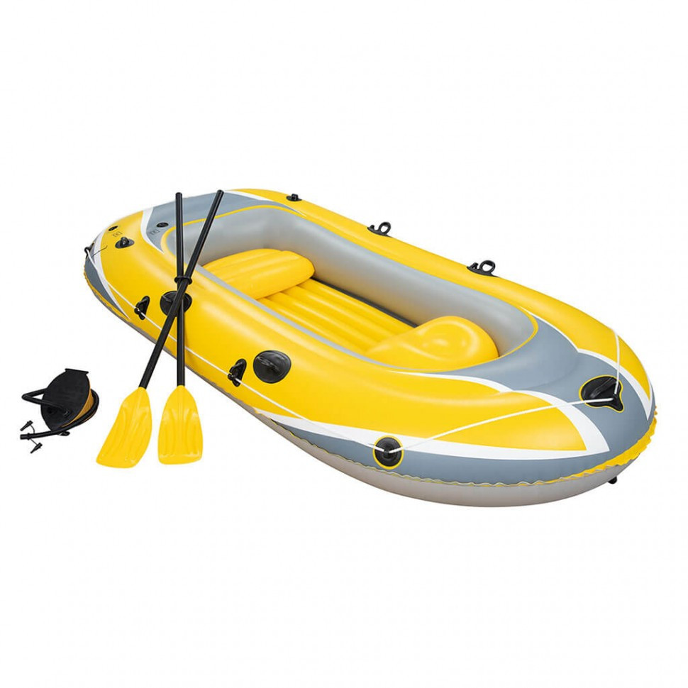 Лодка надувная Hydro-Force Raft Set 255 х 127 х 41 см, BESTWAY, 61068