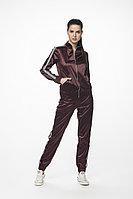 Женский осенний хлопковый красный спортивный спортивный костюм Stilville 18C1504 бордо 44р.