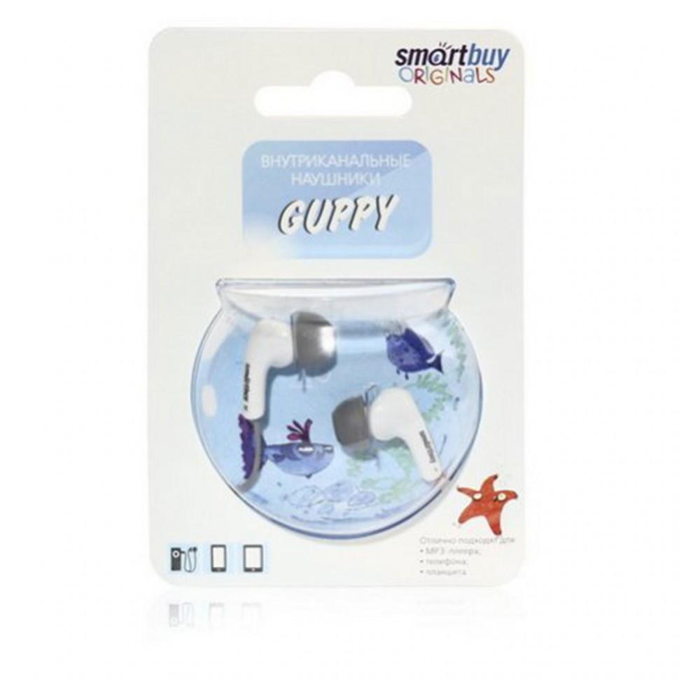 Наушники проводные пассивные SmartBuy GUPPY, серые (SBE-400) / 240 - фото 2