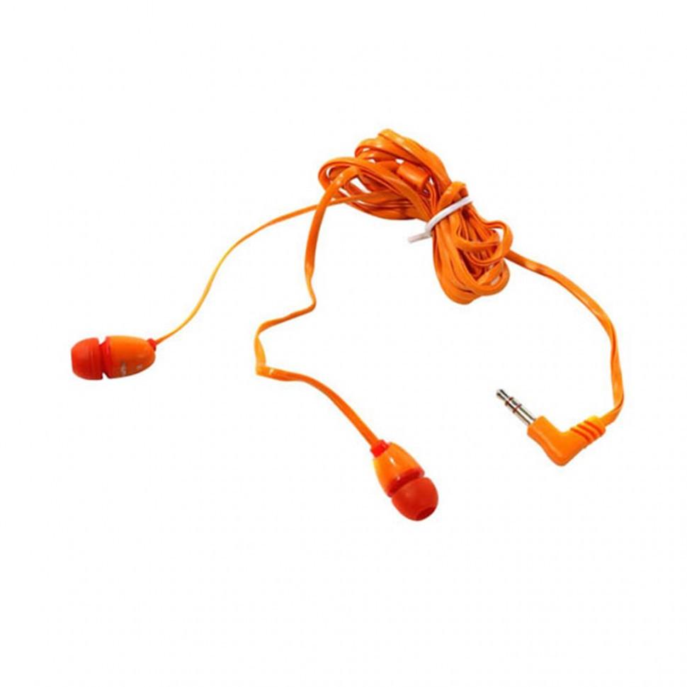 Наушники проводные пассивные SmartBuy® PLANT, красные/оранжевые (SBE-250) / 240