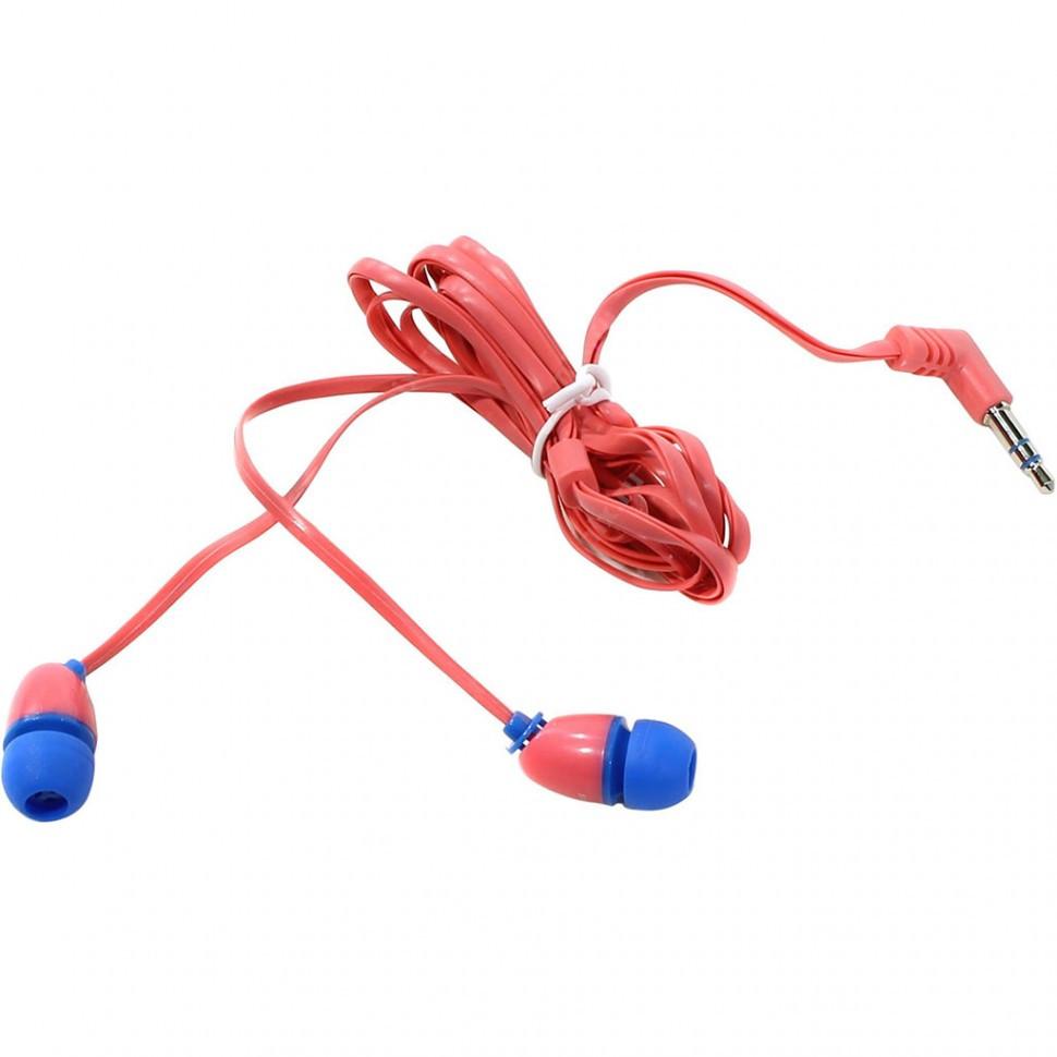 Наушники проводные пассивные SmartBuy® PLANT, розовые/голубые (SBE-220) / 240 - фото 1