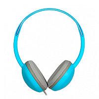 Накладные наушники Smartbuy KIDS, детские: с ограничителем громкости -80дБ, 40мм, синие (SBE-610)/40
