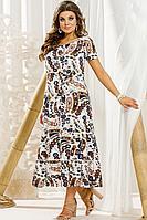 Женское летнее кружевное большого размера платье Vittoria Queen 11443/1 62р.