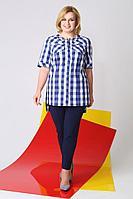 Женские осенние синие большого размера брюки LaKona Бр1030Б синий 52р.