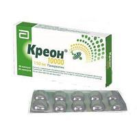 Креон 10000 150 мг №20 капс.с мк/сфер.