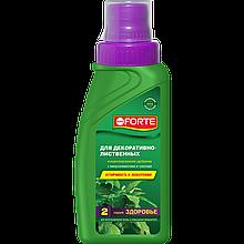 Bona Forte Здоровье Жидкое органо-минеральное удобрение Для декоративно-лиственных растений, флакон 285 мл