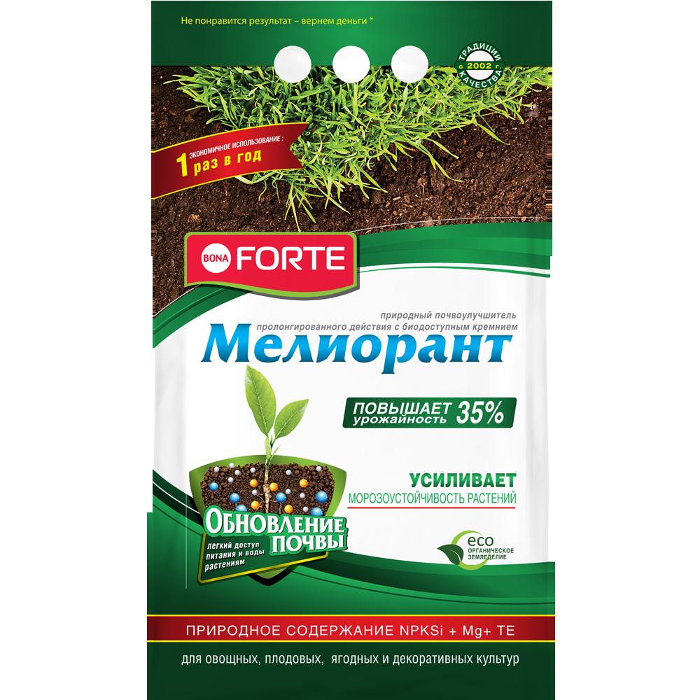 Bona Forte  Мелиорант гранулированный почвоулучшитель оздоравливающий, пакет 5кг