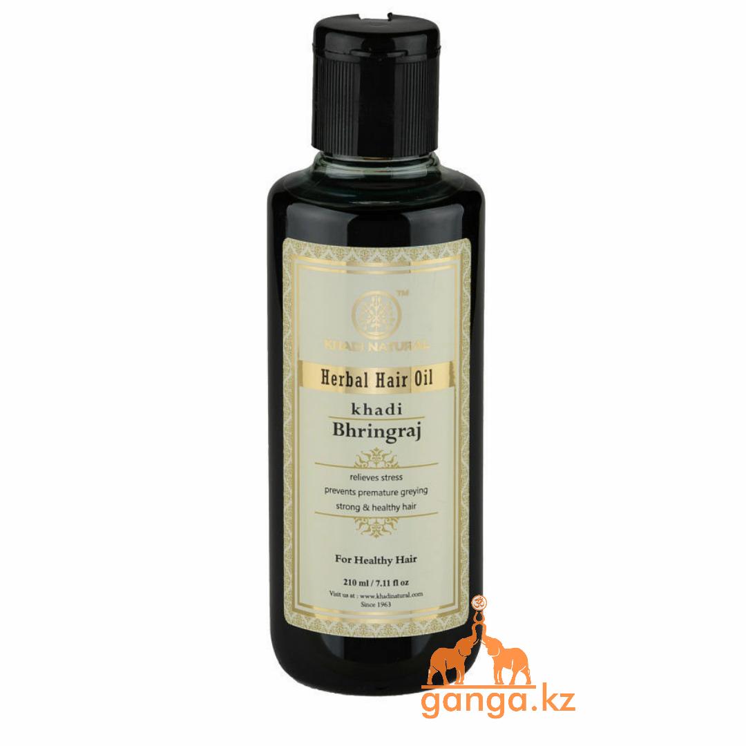 Масло для волос Бринградж (Herbal Hair Oil Bhringraj KHADI), 210 мл