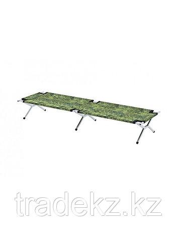 Раскладушка кемпинговая, кровать туристическая Берег 2.0 (размер 200х80х49 см), фото 2