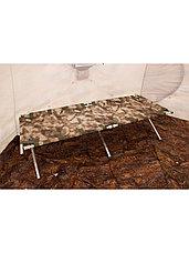 Раскладушка кемпинговая, кровать туристическая Берег 1.9 (размер 190х65х40 см), фото 3