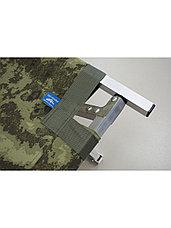 Раскладушка кемпинговая, кровать туристическая Берег 1.9 (размер 190х65х40 см), фото 2