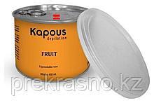 Жирорастворимый воск 400мл Kapous с ароматом банана