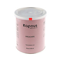 Жирорастворимый воск 800мл Kapous с ароматом шоколада
