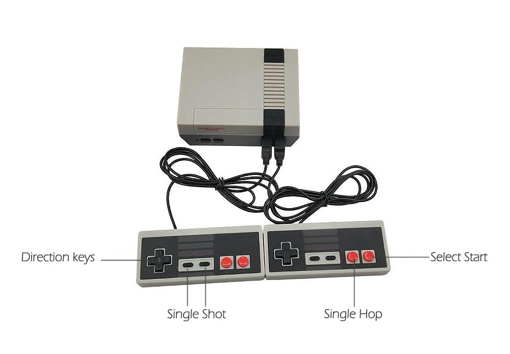 Игровая приставка Anniversary Mini, миниатюрная версия Dendy + 620 встроенных ретро игр - фото 3