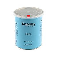 Жирорастворимый воск 800мл Kapous розовый с микромикой