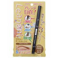 Карандаш для бровей 3 в 1, Leanani (Япония) цвет Пепельно-коричневый