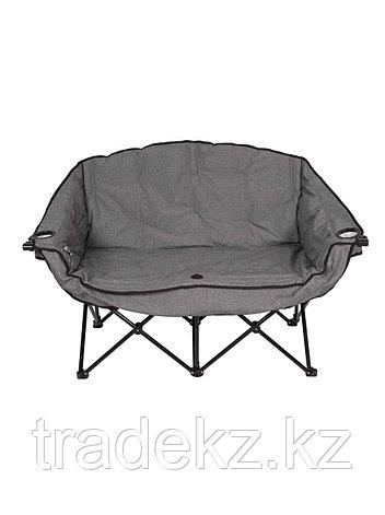 Кресло складное кемпинговое двухместное Condor APL-XLB224C, размер 50x34x98 см., фото 2