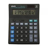 Калькулятор настольный Attache Economy DS-2212, 12 разр., черный