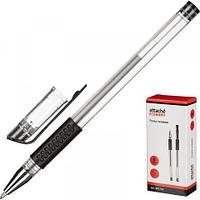 Ручка гелевая Attache Economy с манжеткой, 0,5 мм, черный