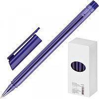 Ручка шариковая Attache Atlantic, 0,5 мм, трехгранный корпус, синий