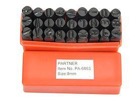 (PA-6863-6) Набор буквенных штампов 27пр. (6мм)(латиница)
