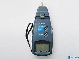 DT6236B тахометр универсальный 2в1 : контактный с валом + фото