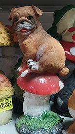 Статуэтка Собака на грибе Н-37 см