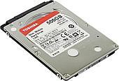 "Жёсткий диск HDD 500 Gb SATA 6Gb/s TOSHIBA L200  HDWK105UZSVA 2.5"" 5400rpm 8Mb"