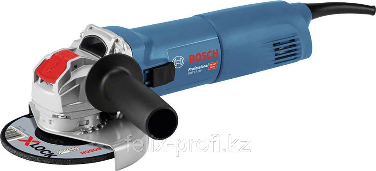 Углошлифовальная машина-болгарка Bosch GWX 14-125