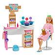 """Barbie Игровой Набор """"День в спа Барби"""" Салон с маской для лица, фото 2"""