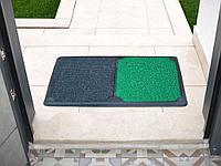 Дезинфицирующий коврик синий, зеленый, красный 50*80