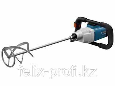 Миксер, 2-скоростная мешалка для размешивания жидких и густых материалов Bosch GRW 18-2 E