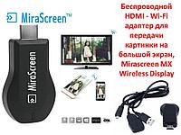 Беспроводной HDMI - Wi-Fi адаптер для передачи картинки на большой экран, Mirascreen MX Wireless Display
