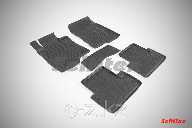 Резиновые коврики с высоким бортом для Honda Accord VIII 2008-2012, фото 2