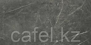 Керамогранит 120х60 темно-серый под мрамор