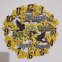Настенный часы именный