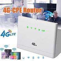 4G WIFI LAN умный роутер с поддержкой 4G сим карт и двумя Ethernet портами, CP108