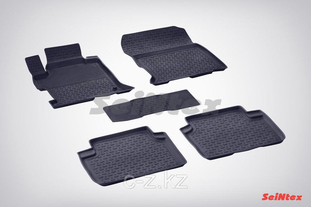Резиновые коврики с высоким бортом для Honda Accord IX 2012-2018