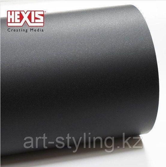 Пленка Hexis HXR150BGR | Текстурированный черный мат