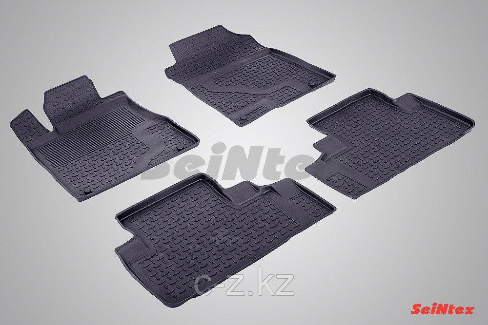 Резиновые коврики с высоким бортом для Honda CR-V IV 2012-2016