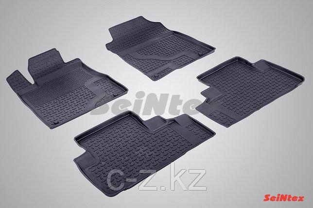 Резиновые коврики с высоким бортом для Honda CR-V IV 2012-2016, фото 2