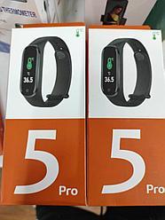 Фитнес-браслет 5 Pro .C измерением температуры тела, тонометром и пульсоксиметром