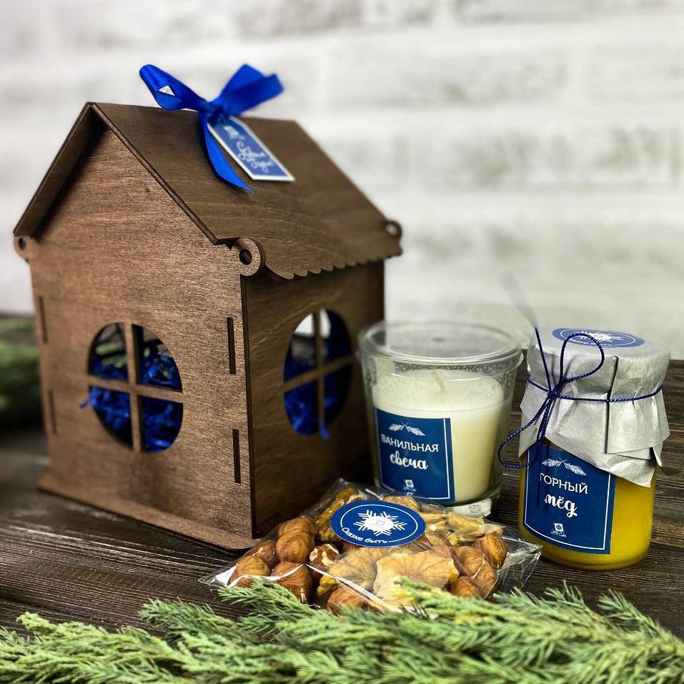 Корпоративный новогодний подарок Тепло дома