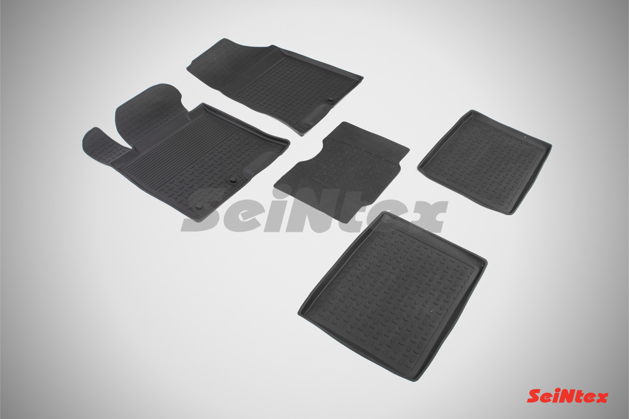 Резиновые коврики с высоким бортом для Hyundai i40 2012-н.в.
