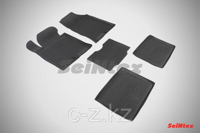 Резиновые коврики с высоким бортом для Hyundai i40 2012-н.в., фото 2