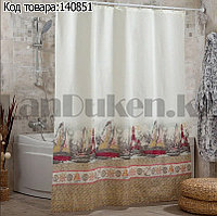 Водонепроницаемая тканевая шторка для ванной Miranda Marinero 180x200 см