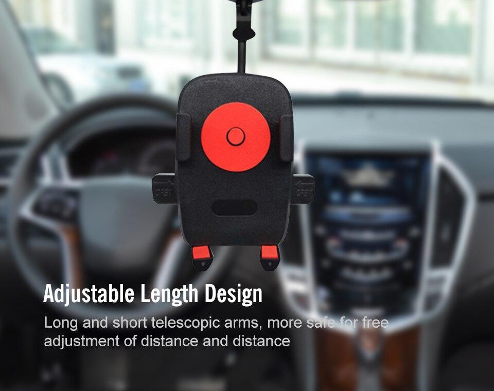 Универсальный регулируемый автомобильный держатель для смартфонов на стекло, ITEM 07 - фото 4