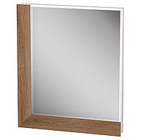 Шкаф навесной: зеркало в профиле