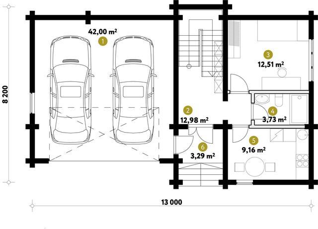 Проект гостевого двухэтажного дома чертежи и фото, план двухэтажного дома и строительство под ключ, проектирование и строительство деревянных домов.