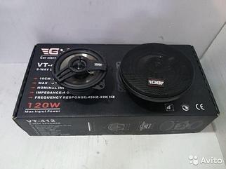 Автомобильная акустика (колонки) GB VT-412
